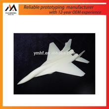 manufacturer plastic 3d printing model plane/rapid prototyping