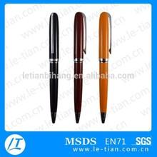 MP-186 Twist action logo customized printed pen metal