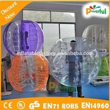 Incredible Fun!!! New-style outdoor sport/Body Zorbing ball/Bubble soccer
