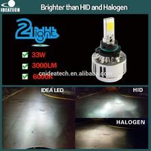 IDEA PATENT 33W 3000 Lumen 9006 car led light