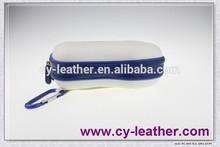 white EVA camera case with studs