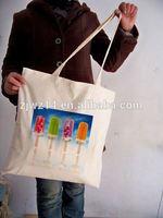 durable cotton shopping bag/ velvet gift pouches/ custom velvet drawstring pouch bag