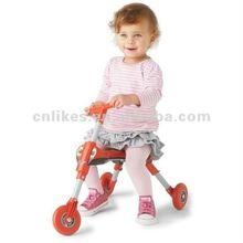 3 wheel plastic child tricycle