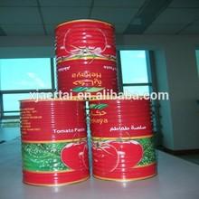 2015 Health food!! 28-30% Brix Xinjiang Orginal tomato paste in cans 210g