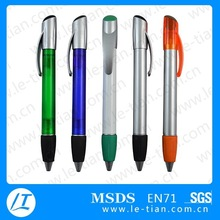 PB-039 Hot selling multi-color promotional branded imprint ballpoint pens for hotel or office