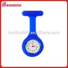 High Quality Waterproof Soft Silicone Nurse Watch , Random Color