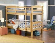 Oak Wooden Bunk Bed Popular 2012 designs