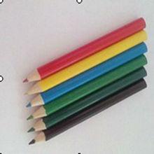 3.5 inch wooden color pencil