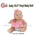 Sally 10.5 vinil polegadas expressão baby doll de saia rosa