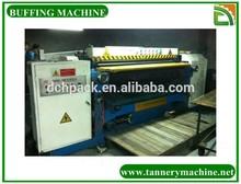 leather process tannery machine 600mm buffing and polishing machine