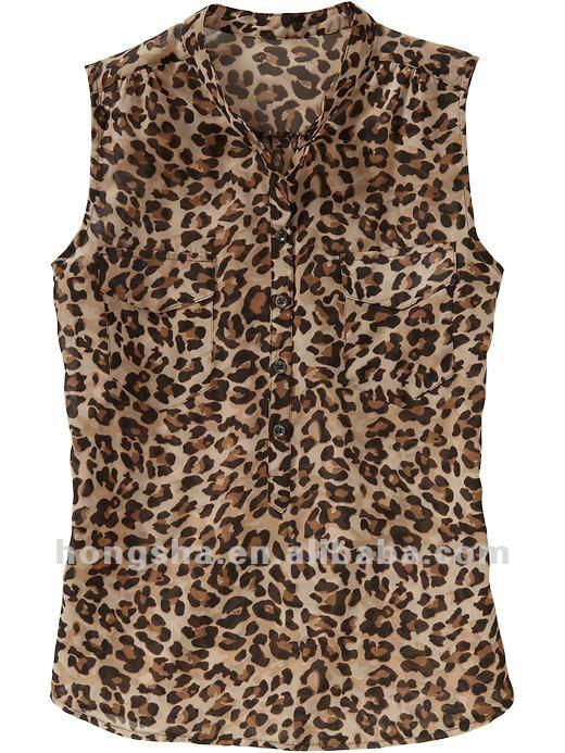 los modelos de blusas en hsb028 chifon-Mujer Blusas y Tops ...