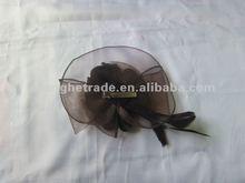 2013 fashion polyester artificial flower headware/head tie