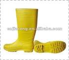 CE PVC Colorful Rain Boot without steel