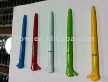 promotional finger ball pen/Add logo ballpen/cheap ballpoint pen