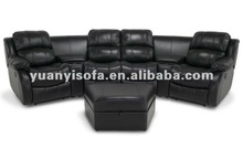 YR1210 Modern home furniture sofa, home theater recliner sofa, home cinema 4 seat sofa