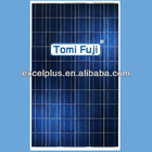 PV 240w photovoltaic poly crystalline solar module with TUV CE certificates