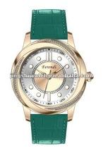 Cheap price high quality fashion design interchangeable strap lady watch