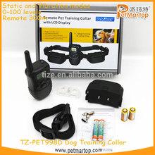 998D remote control dog training collar TZ-PET998D Dog training collar