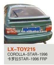 fiber glass rear spoiler for TOYOTA COROLLA-STAR-1996