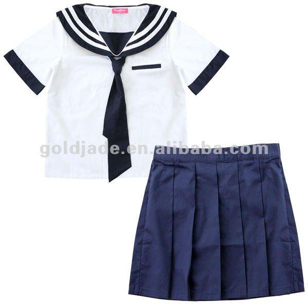 ... courtes uniformes pour l'école uniforme scolaire pour les filles