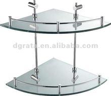 2012 sector glass shelves for bathroom of new house, hotel or inn