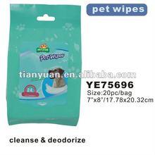 dog training pad/pet wipes