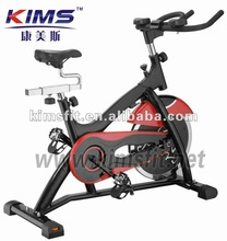 Fit spin bike pace exercise for body buliding