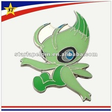 good promotional gift eco friendly custom made metal lapel pin emblems