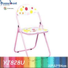Child size metal folding chair