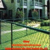 All green vinyl coated house fence(Manufacture)