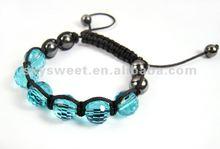 Disco Ball Bracelets,woven bracelet