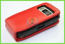 best price red leather mobil phone cases cover for nokia