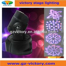 Mini 15w led moving head spot light/mini spot / spot light