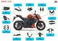 Partes de motocicleta de fibra de carbono