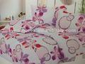 100% microfibra de poliéster capas de edredão, vermelho e branco duvet covers, queen size baratos cama folha