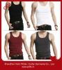 Custom/wholesale slim fit tank/vest tops for young men