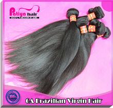 Production of fine brazilian virgin hair extensions