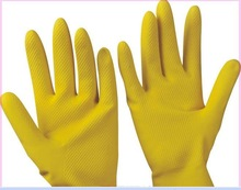 2012 hot sale Household rubber glove