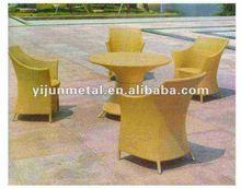 5pcs weather resistant patio furniture