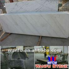 2013 new arrival solid surface granite slab bianco carrara