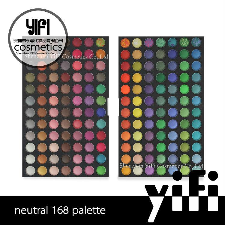 Wholesales!! 168 eyeshadow palette eye shadow palette