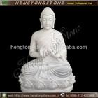 Stone Carved Sitting Buddha Statue