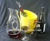 2012 cheers small size champagne bucket for promotion--LD-B101