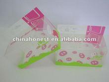 2012 folding print plastic packaging box