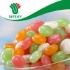 Natural Color Natural Flavor Fruity Bulk Halal Button Shape Jelly Bean