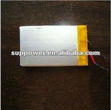 panasonic br battery 3.7v 1450mAh li polymer battery