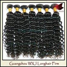 WXJ Sensational 100% Virgin Brazilian Remy Hair Weave With Factory Price
