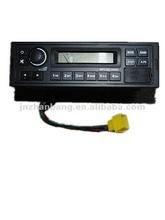 Sinotruk parts truck radio player mp3