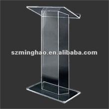 acrylic podium lectern / clear acrylic church podium / perspex school lecturen