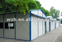 high-quality earth-quake resistant prefabricated house/shelter/shed/relief house